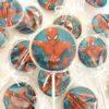sucettes personnalisées spiderman Les Délices de Caro